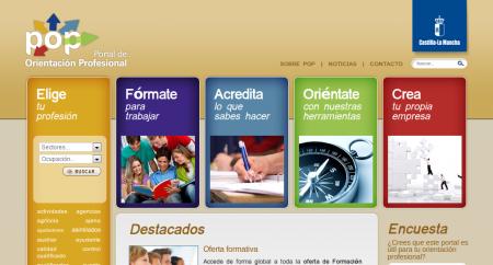 Portal de Orientación Profesional JCCM (POP)